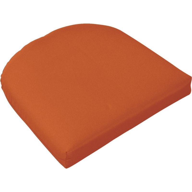 Casual Cushion Rounded Seat Pad Chair Cushion Pottery