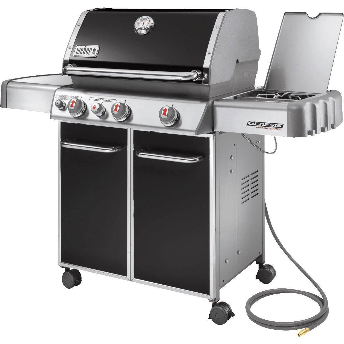buy weber genesis ep 330 natural gas grill black. Black Bedroom Furniture Sets. Home Design Ideas