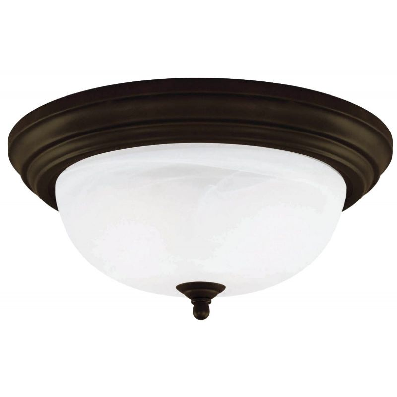 Home Impressions 11 In. Flush Mount Ceiling Light Fixture 11 In. W. X 5-1/8 In. H.