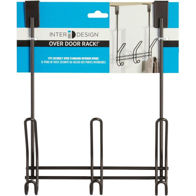 iDesign Classico Over-The-Door Hook Rail Bronze