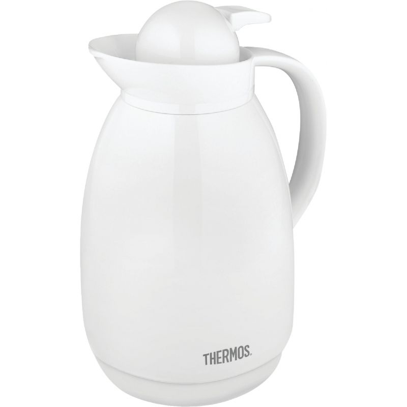 Thermos Thermal Coffee Carafe 34 Oz., White