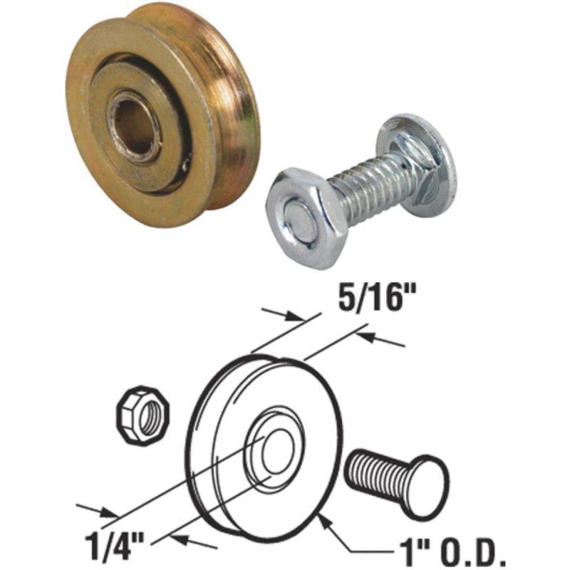 Slide-Co Steel Patio Door Roller Assembly