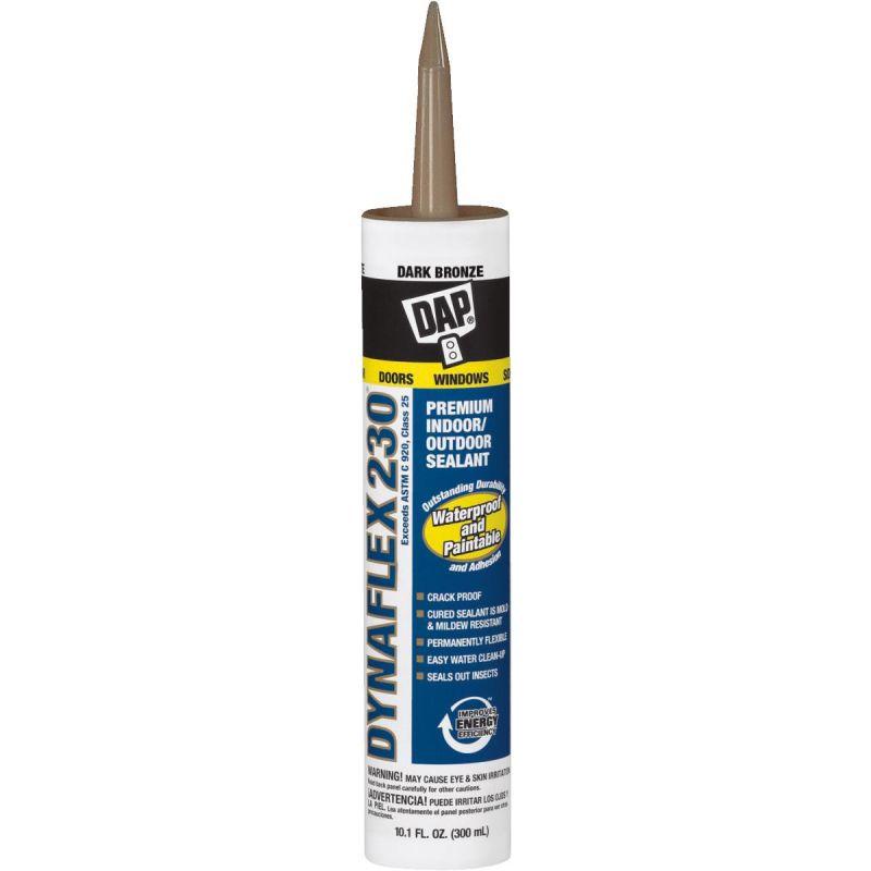 DAP DYNAFLEX 230 100% Waterproof Window, Door, Siding, & Trim Sealant 10.1 Oz. (Pack of 12)