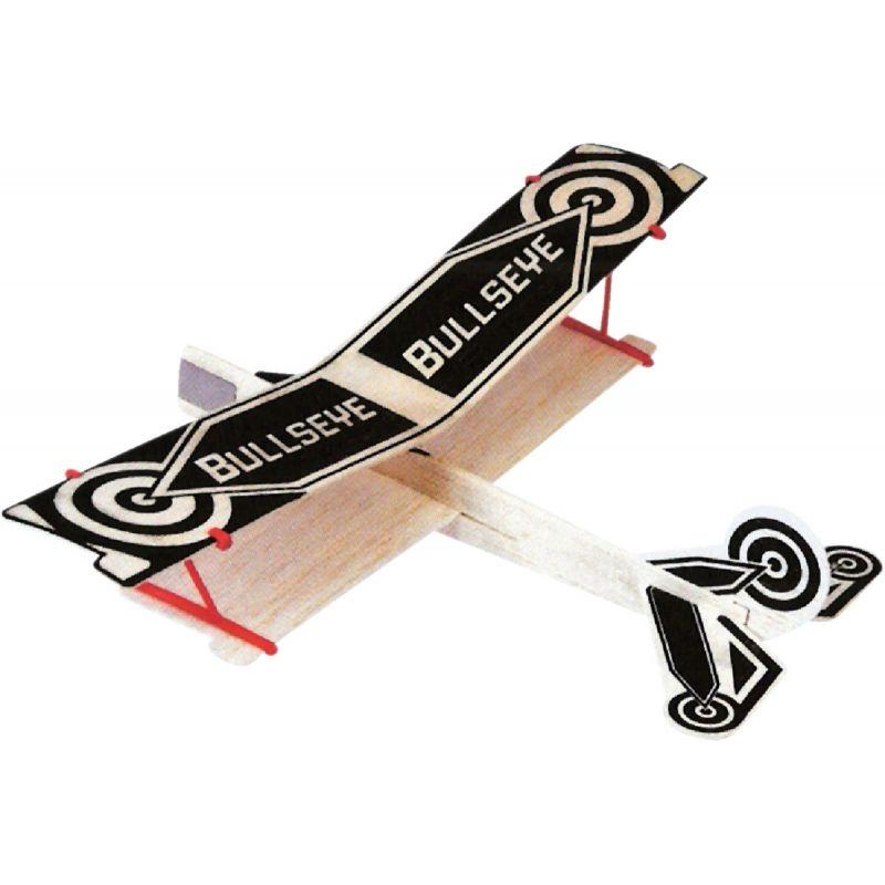 Paul K Guillow Bullseye Biplane Glider Plane (Pack of 24)