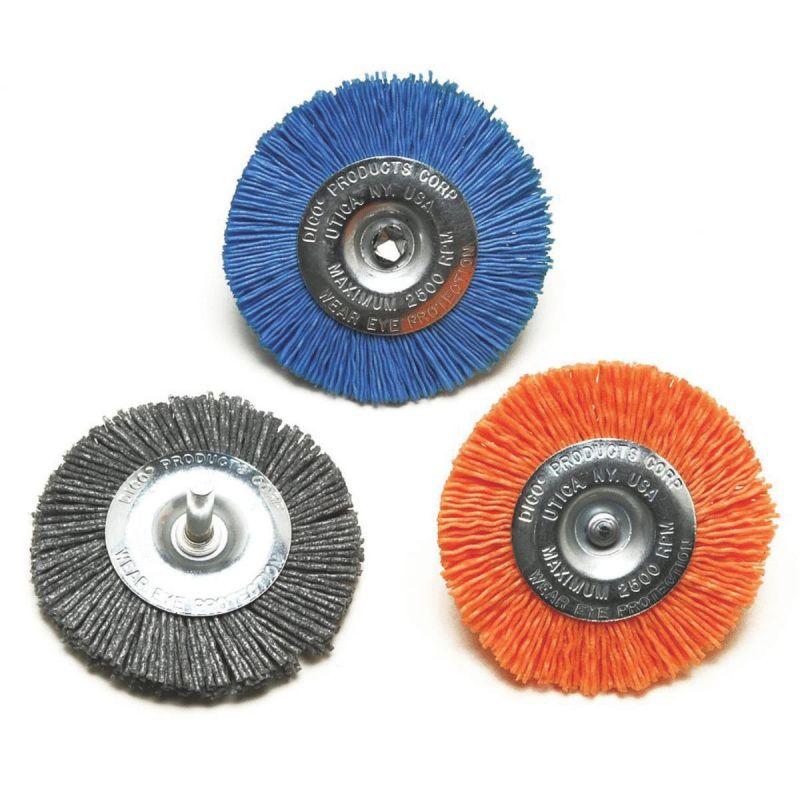 Dico Wheel Drill-Mounted Wire Brush