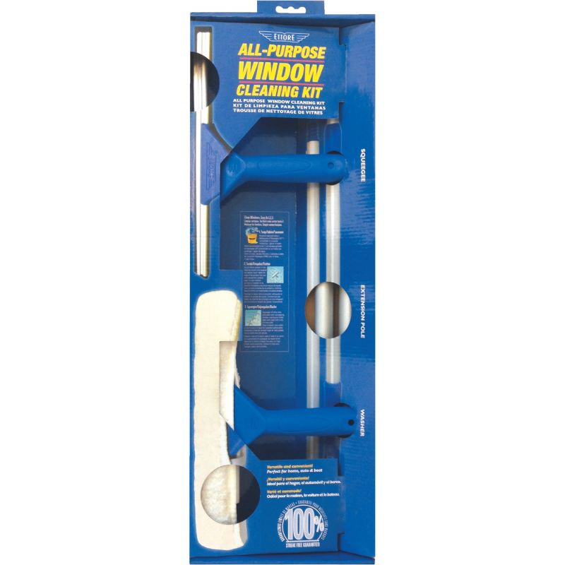 Ettore All-Purpose Window Cleaning Kit