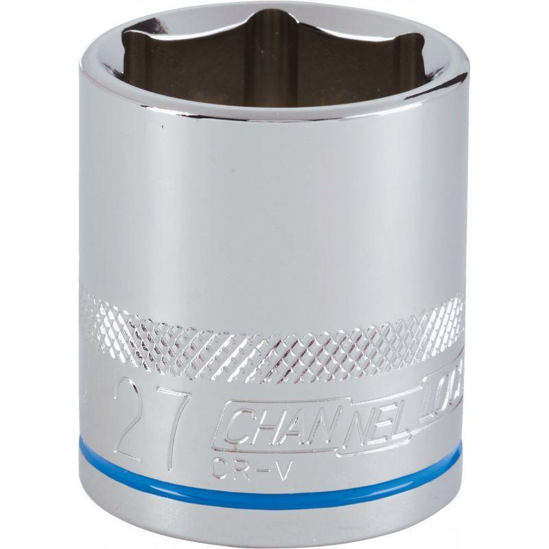 Channellock 1/2 In. Drive Socket 27 Mm