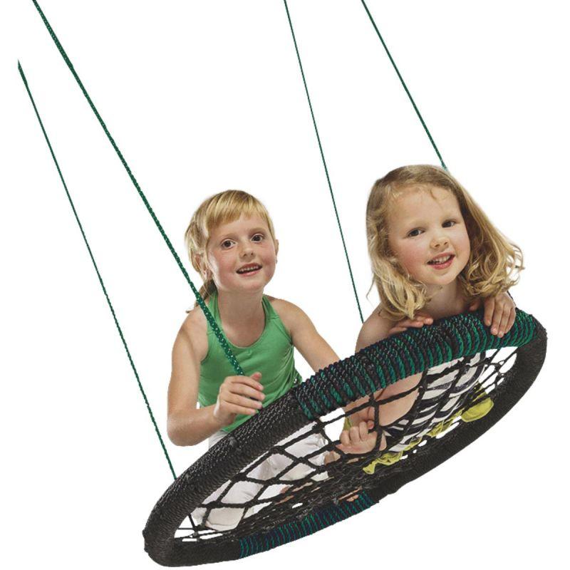 Swing N Slide Monster Web Swing Black