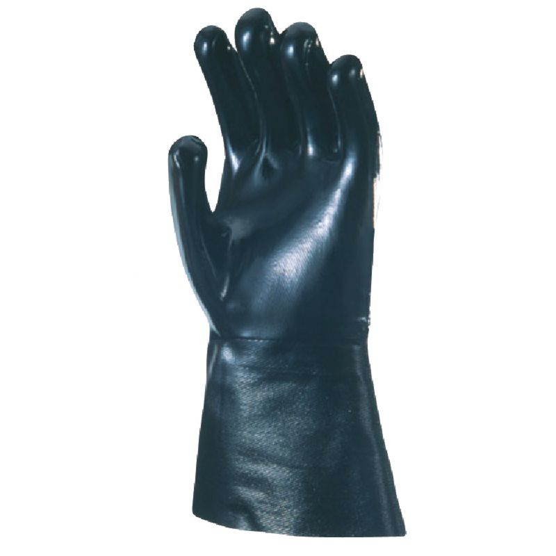 Wells Lamont Chemical Resistant Neoprene Coated Glove 1 Size Fits All, Black