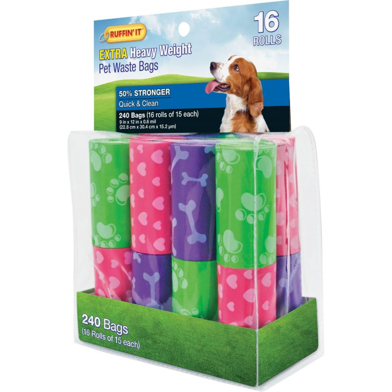 Ruffin' it Extra Heavy Weight Pet Waste Bag