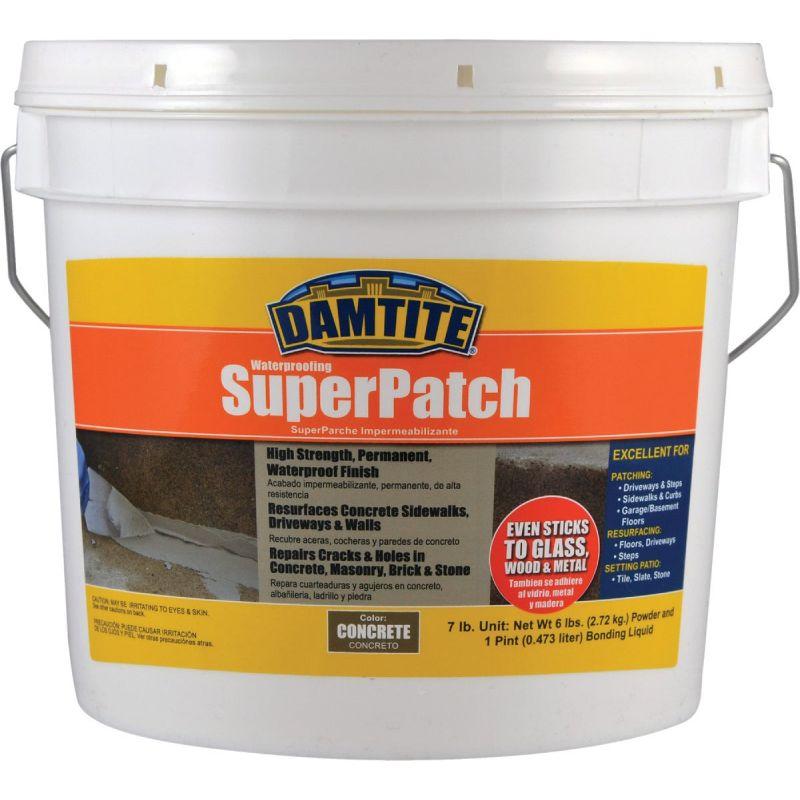 Damtite Waterproofing Super Concrete Patch 7 Lb, Concrete