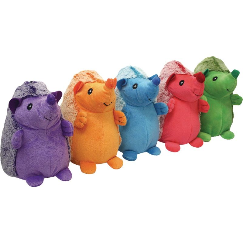 Multipet Hedgehog Dog Toy 8 In., Assorted