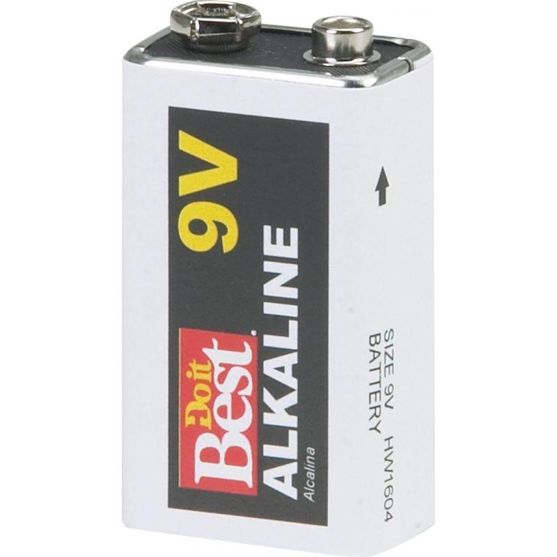 Do it Best 9V Alkaline Battery 662 MAh