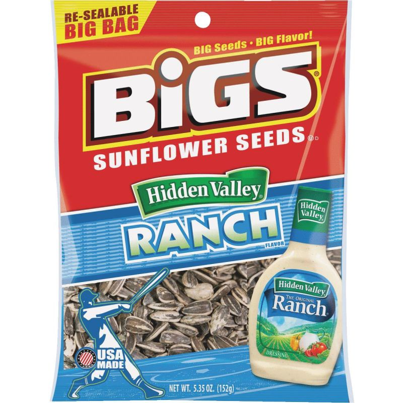 BIGS 5.35 Oz. Sunflower Seeds 5.35 Oz. (Pack of 12)