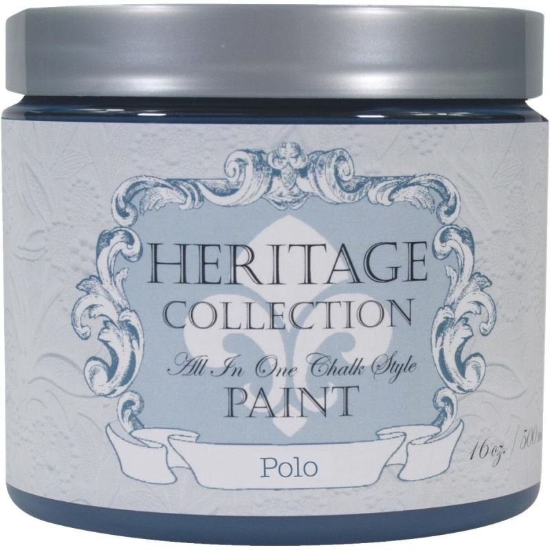 All-In-One Chalk Style Paint Polo - Navy Blue Pint