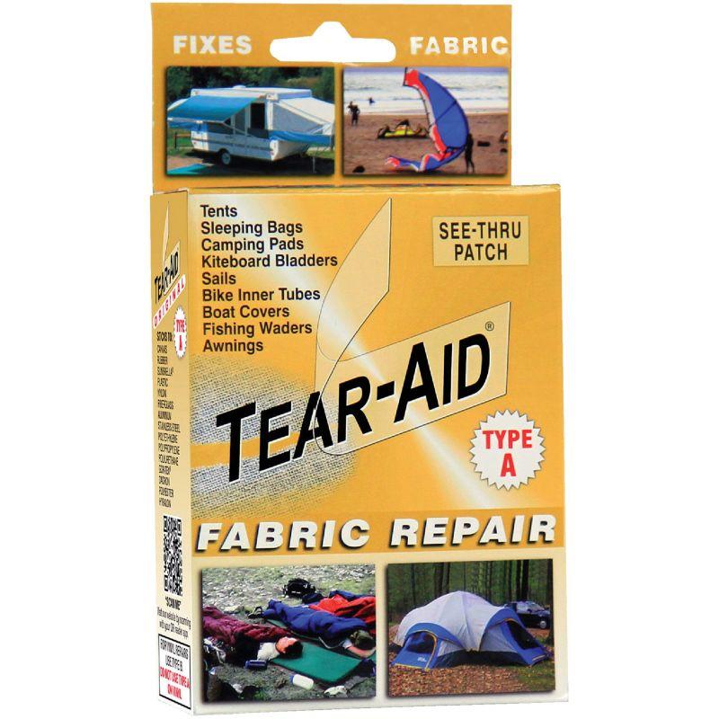 Tear-Aid Tent & Multi-Use Fabric Repair Kit Transparent