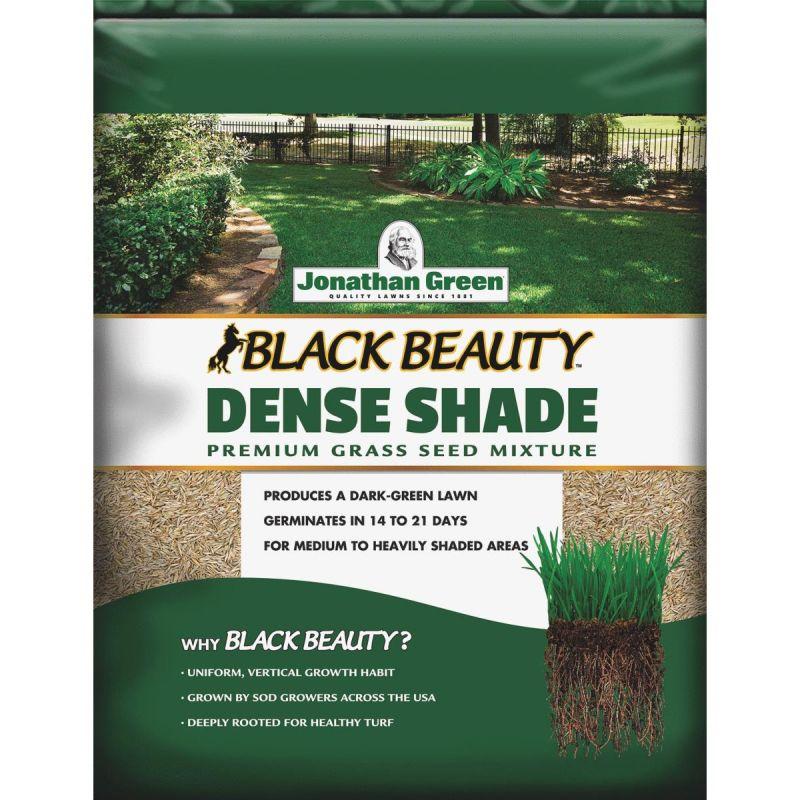 Jonathan Green Black Beauty Dense Shade Grass Seed Mixture 3 Lb., Medium Texture, Dark Green Color