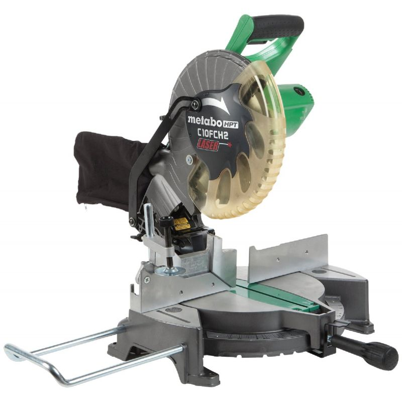 Metabo HPT 10 In. Compound Miter Saw 15A