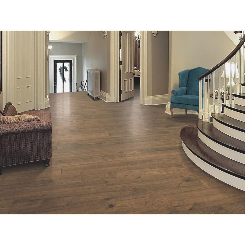 Mohawk RevWood Plus Elderwood Waterproof Wood Flooring Bungalow Oak, Elderwood