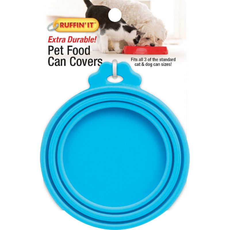 Westminster Pet Ruffin' it Pet Food Can Cover Clip Strip 1/2 In. X 4 In. X 5-1/2 In., Assorted