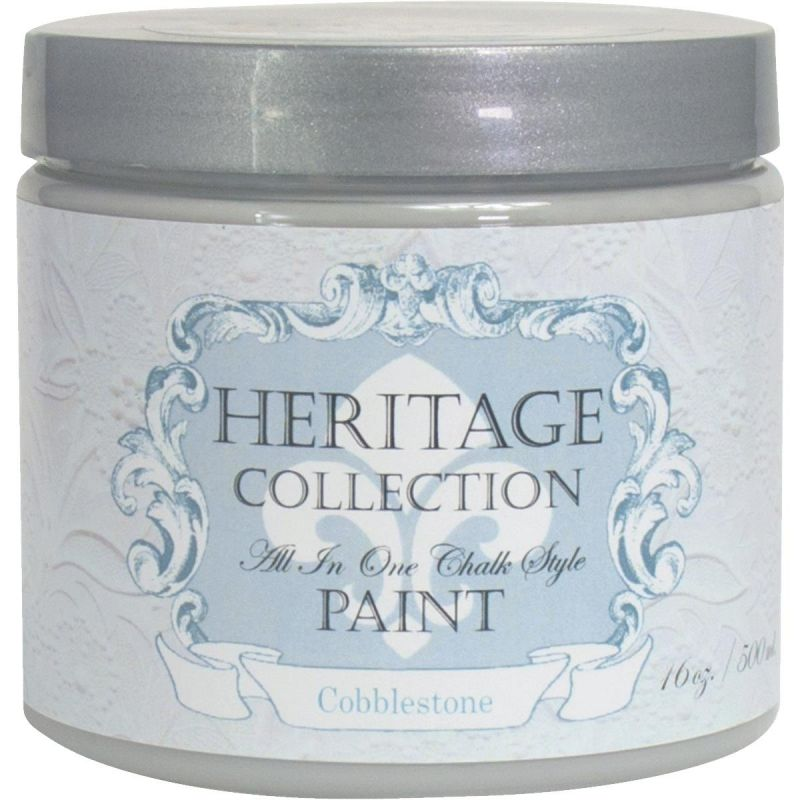 All-In-One Chalk Style Paint Cobblestone - Gray Pint