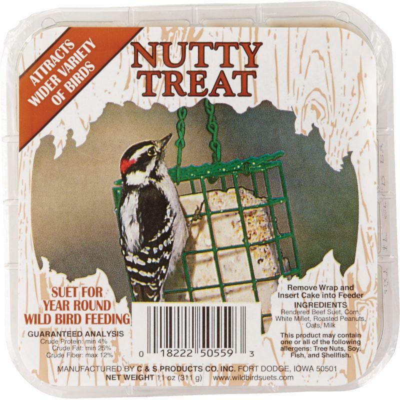 C&S Treat Wild Bird Suet 11 Oz. (Pack of 12)