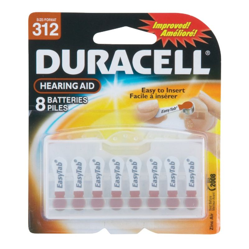 Duracell EasyTab Hearing Aid Battery Brown