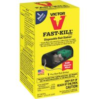 Victor Fast-Kill Disposable Mouse Bait Station