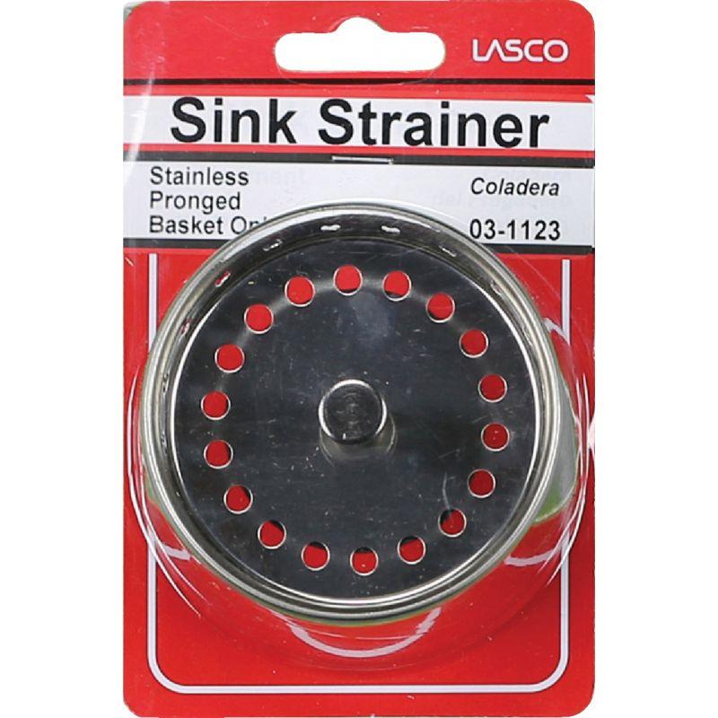 Lasco Basket Strainer Stopper 3-1/8 In.