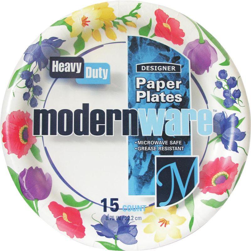 "Modern Ware 8.75"" Paper Plate Multi"
