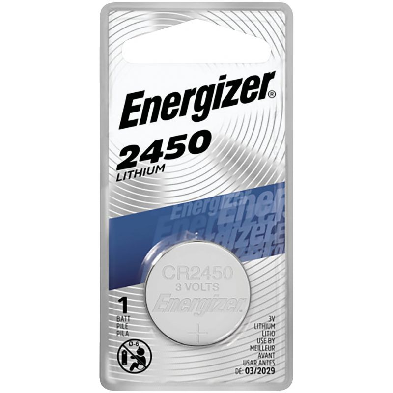 Energizer 2450 Lithium Coin Cell Battery 620 MAh