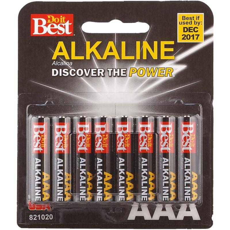 Do it Best AAA Alkaline Battery 1123 MAh