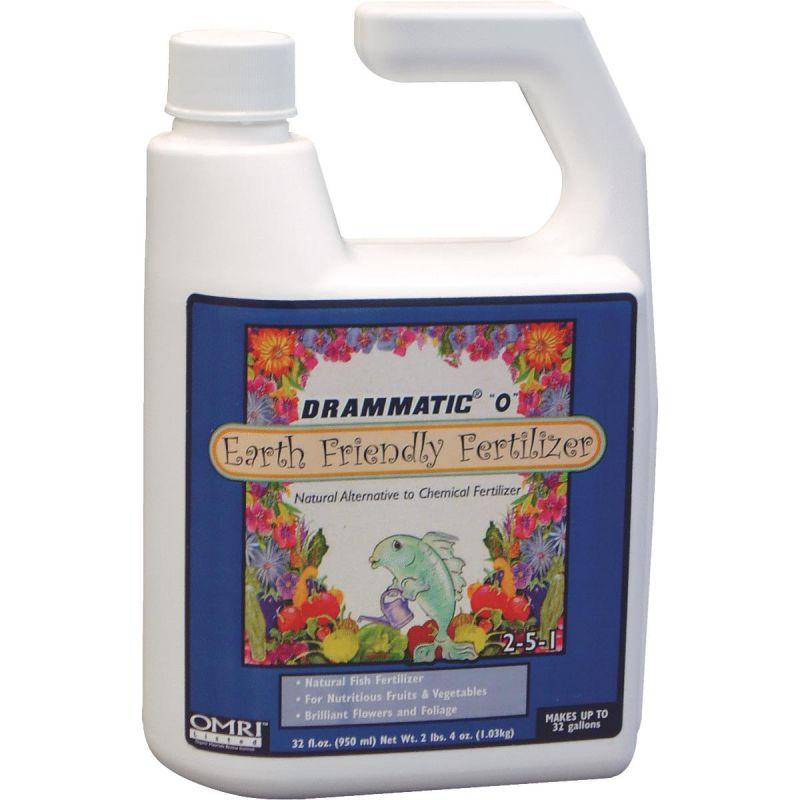 Buy Drammatic O Organic Fish Liquid Plant Food 1 Qt