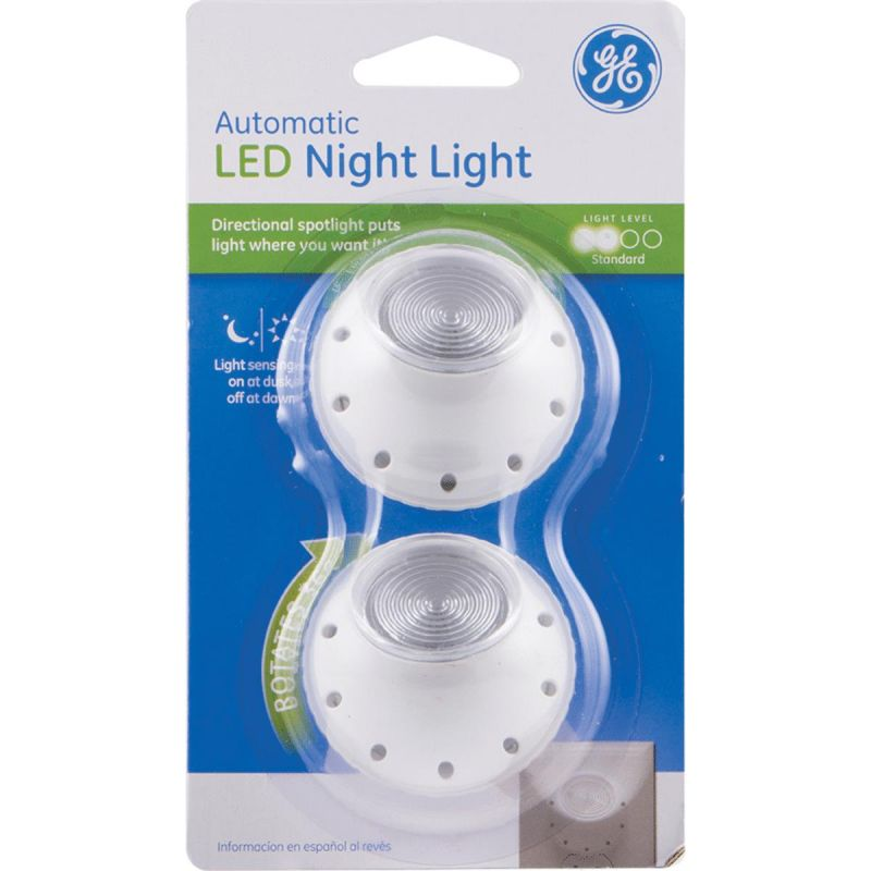 Led Carport Lighting Products Display Current By Ge: Buy GE Automatic LED Night Light White
