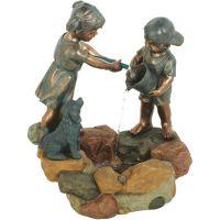 Best Garden Children And Dog Fountain