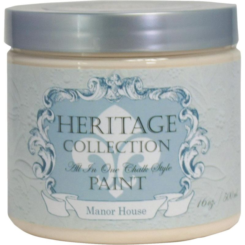 All-In-One Chalk Style Paint Manor House - Off White Pint