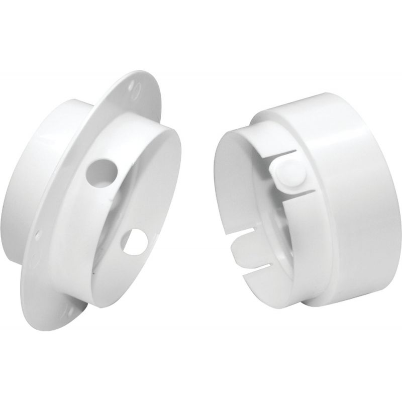 Dundas Jafine EZConnect Dryer Duct Connector 4 In., White