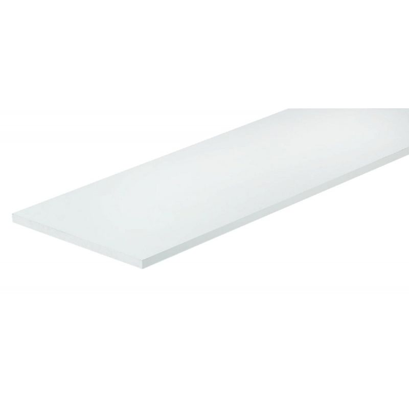 Knape & Vogt All-Purpose Shelf White