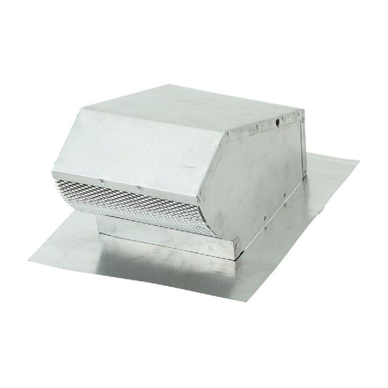 Lambro Aluminum Roof Vent Cap 7 In., Mill Finish