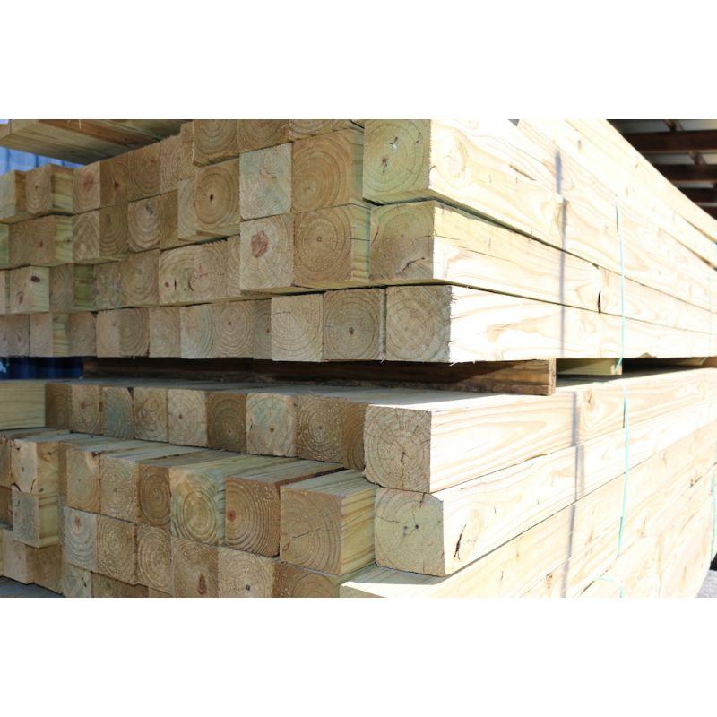 "4"" x 4"" x 8' #2 MCA Pressure Treated Lumber"