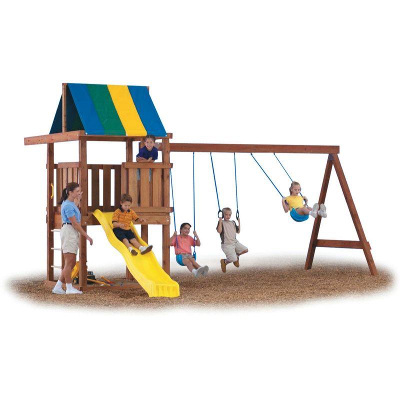 Swing N Slide Wrangler Playground Kit