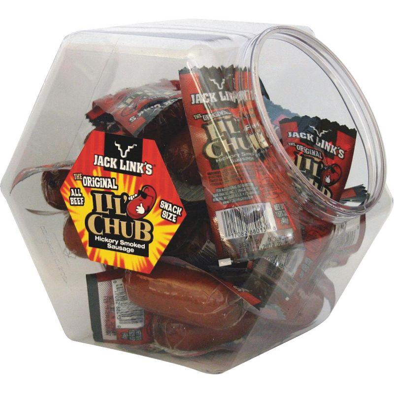 Jack Link's Lil' Chub Beef Sausage (Pack of 24)