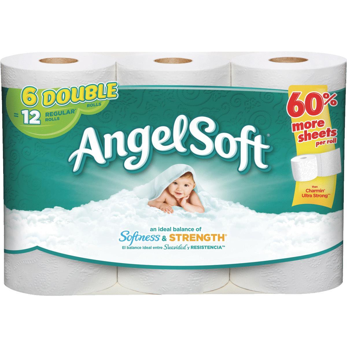 Buy Angel Soft Toilet Paper White Pack Of 10