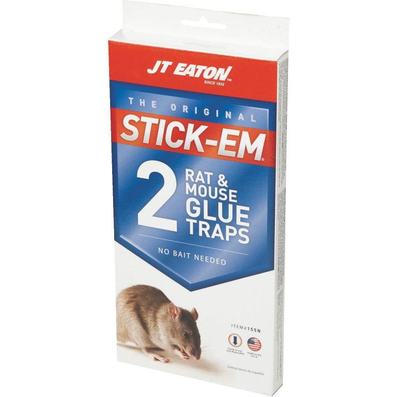 JT Eaton Stick-Em Mouse & Rat Trap