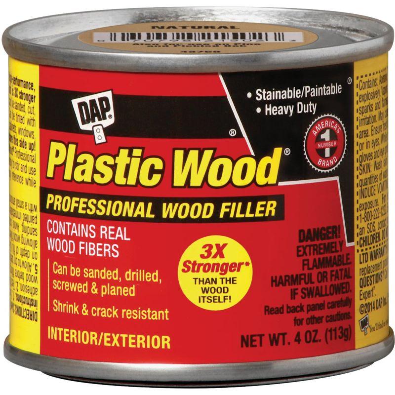 Dap Plastic Wood Professional Wood Filler 4 Oz., Gold Oak