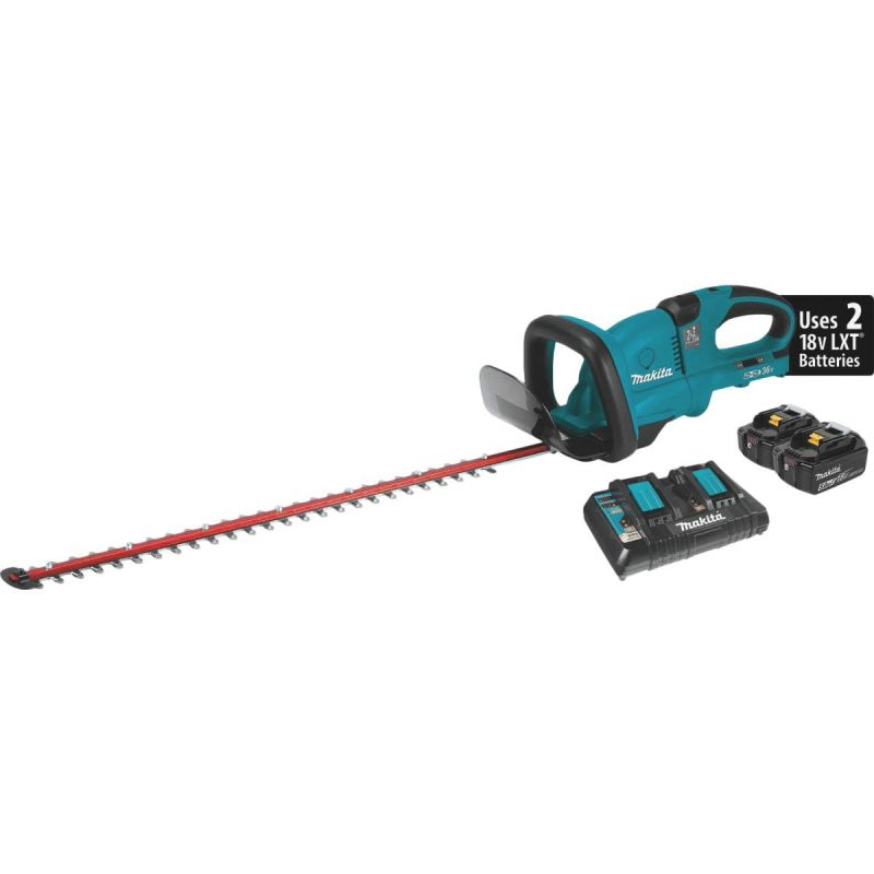 Makita LXT Cordless Hedge Trimmer Kit 5.0 Ah, 25-1/2 In.