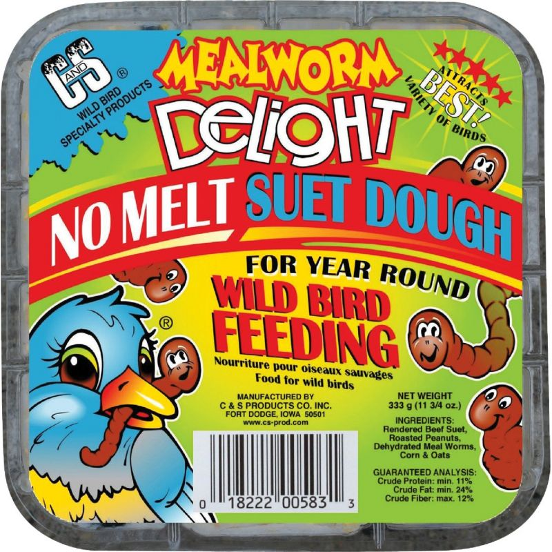 C&S Delight Suet Dough 11.75 Oz.