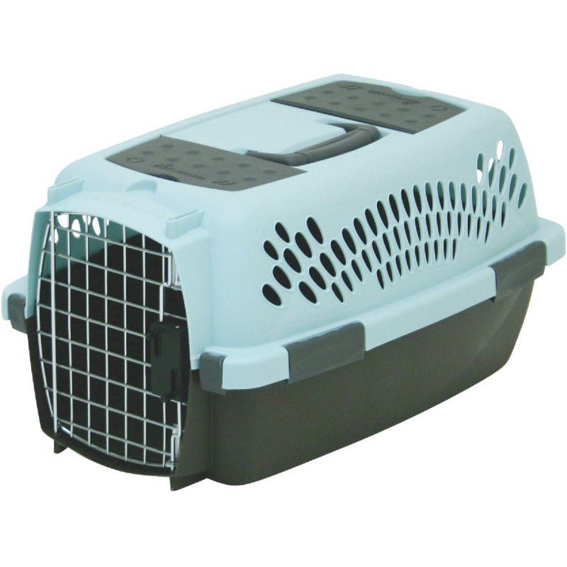 Petmate Aspen Pet Fashion Pet Porter Light Gray/Navy