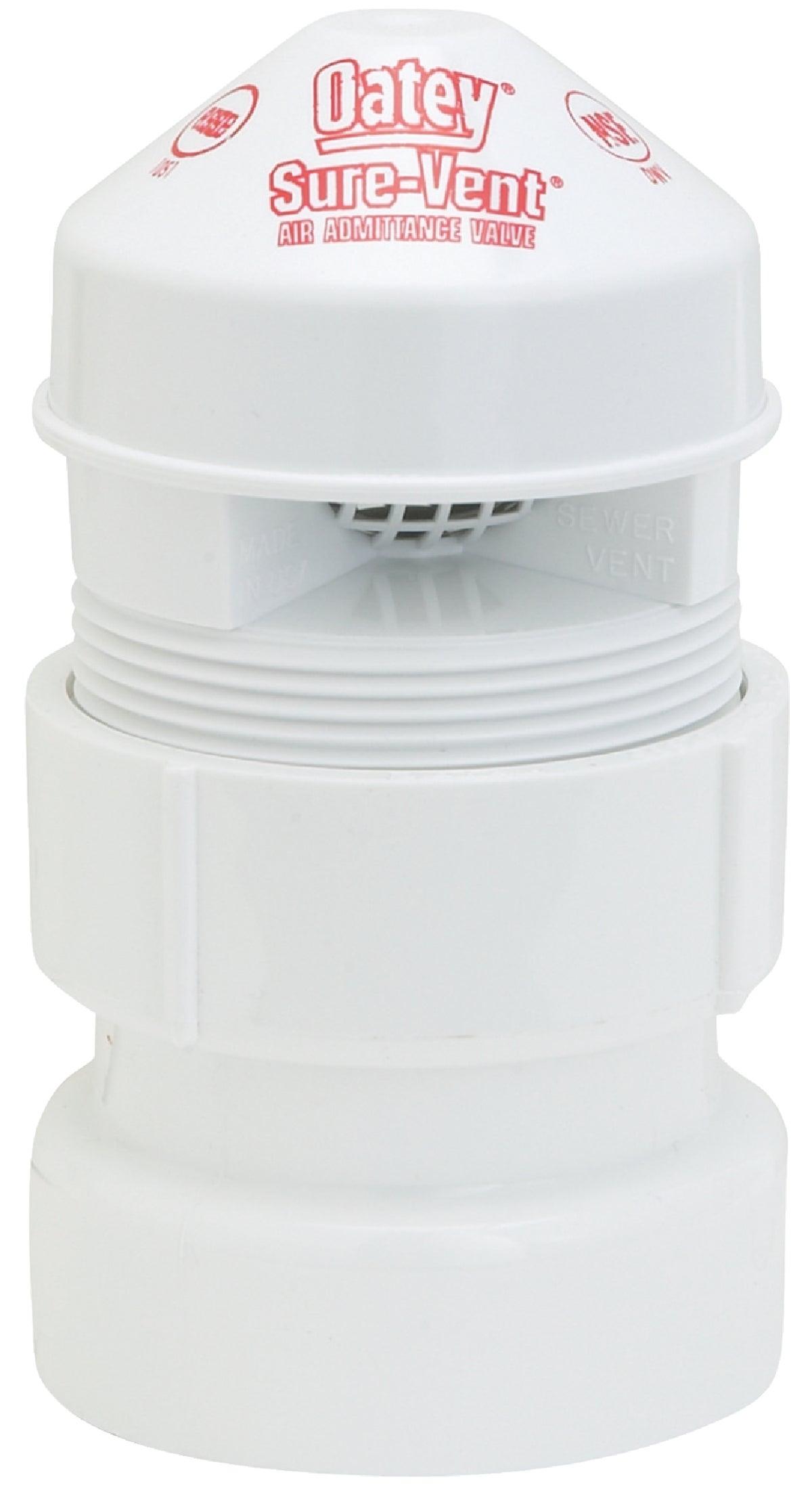 "6 Pk Oatey Sure Vent 1-1//2/"" Solvent Weld PVC Air Admittance Valve Kit 39239"