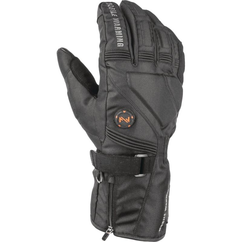 Mobile Warming Storm Heated Gloves XL, Black